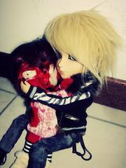Greed & ENnvy (cheshirelayla@ymail.com) Tags: doll dal envy custom greed taeyang lipoca raiky
