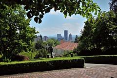 City view from the Oregon Seal Monument 4 30 2016 (rbdal (Rick Dalrymple)) Tags: skyline oregon portland spring nikon view vista cityview washingtonpark multnomahcounty d7000 oregonsealmonument