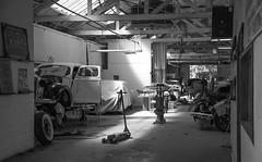glory days (** RCB **) Tags: shop garage