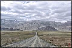 straight forward (alamond) Tags: road mountains clouds canon landscape desert cloudy 7d l usm tajikistan straight ef f4 1740 forward pamir mkii markii brane llens alamond zalar
