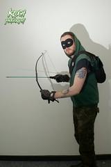 IMG_0664 (Neil Keogh Photography) Tags: black male green comics dc pants mask top jacket gloves hero hood cosplayer dccomics armour merc mercenary greenarrow bowarrow salfordcomiccon2016