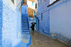 IMG_3682 (rachel_salay) Tags: city blue morocco chefchaouen
