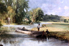 IMG_1560Q John Constable. 1776-1837. Stratford Mill. 1820.     Londres National Gallery. (jean louis mazieres) Tags: greatbritain london museum painting gallery unitedkingdom muse londres museo peintures peintres grandebretagne nationalgalleryjohn constablenational