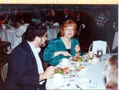 1989 Company Dinner (Michael Vance1) Tags: family boy woman man oklahoma grandmother historian grandfather mother husband wife writer novelist journalist