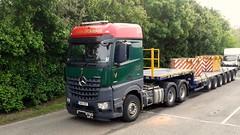 John Dickinson. NK15 OBT. (P@ul's Tr@nsport @lbums) Tags: truck mercedes lorry dickinson hgv lowloader johndickinson 3351 arocs nk15obt