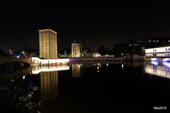 2016_05_25_KF16333 (khaled.farah) Tags: france architecture canon eos canal cityscape strasbourg petitefrance fleuve kfarah nightsape khaledfarah
