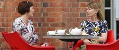 We can always find time for tea (Row 17) Tags: uk greatbritain england people urban woman town women tea unitedkingdom britain candid relaxing gb warwickshire stratforduponavon tearooms