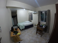 My room at Yvonnes Hotel! 55US a night!