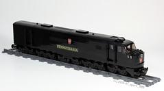 Baldwin DR-12-8-1500/2 Centipede (dr_spock_888) Tags: railroad train lego pennsylvania locomotive centipede baldwin prr moc