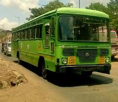 MSRTC City Bus (kunalas440) Tags: ashok ashokleyland kumbmela msrtc msrtcbus msrtcashokleylandbus msrtcpushback msrtchirkani msrtcpushbackhirkani msrtccitybus