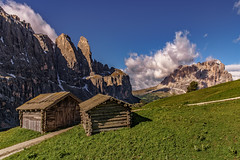 Dolomite Alps (Achim Thomae) Tags: italien summer alpen unescoworldheritage dolomites sdtirol dolomiten 2016 langkofel grdnerjoch altoadiga thomae achimthomae unescoweltnaturerbe