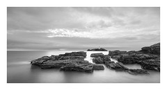 Gods country (Nick green2012) Tags: blackandwhite lighthouse seascape long exposure cornwall rocky