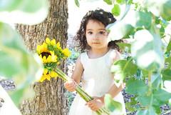 Gianna_0126 (Ciara*) Tags: girl kid toddler smiles cutie niece sunflower