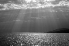 sometimes it's fated (tamasmatusik) Tags: balaton révfülöp fated shine clouds storm water lake hungary blackandwhite noiretblanc feketefehér bw nature monochrome sonynex nex3n nex sunshine milc plattensee shore sky welovebalaton lights sailing sailboat bwartaward