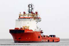 Normand Draupne (andreasspoerri) Tags: norwegen cuxhaven versorger normanddraupne imo8406470 ulsteinhatl