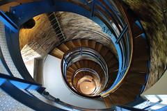 Von oben nach unten (julia_HalleFotoFan) Tags: fehmarn leuchtturm fehmarnsund treppenhaus wendeltreppe flgge inselfehmarn leuchtturmflgge