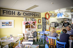 Orient Point Bakehouse (Visit Shoalhaven) Tags: food fish kitchen coffee point country salmon chips orient quaint bakehouse shoalhaven