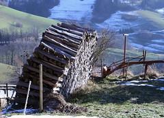 holzstapel (richard.heidler) Tags: wood winter snow canon eos log gravity schwarzwald blackforest efs logstack 400d rebelxti eos400d canoneos400d digitalrebelxti worldtrekker richirik