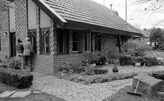 Eaglemont Lippincott house 1978, B+W 1970s- sheet 161 02 (Graeme Butler) Tags: landscape heritage architecture victoria australia