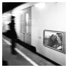 train ! (vinfor) Tags: street blackandwhite bw monochrome square streetphotography squareformat gr ricoh ricohgr streetphotgraphy squarephotography