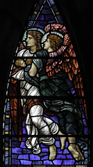 Angels and Children III (Lawrence OP) Tags: windows church abbey scotland fife stainedglass dunfermline henryholiday