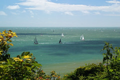Round the island boat race (keithjherbert) Tags: boat ventnor eos500d england isleofwight canon nature