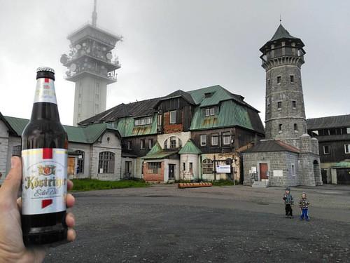 Köstritzer Pils na Klínovci 🍺👍😉
