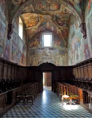 Certosa di Pontignano - 4 (anto_gal) Tags: chiesa siena toscana sanpietro affreschi interni coro certosa 2016 pontignano castelnuovoberardenga