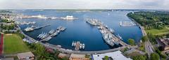 Kieler Woche 2016 (Offizieller Auftritt der Bundeswehr) Tags: panorama marine event hafen schiffe luftaufnahme kielerwoche marinesttzpunkt