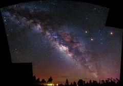 Mosaic Milky Way (Scorpion-66) Tags: mars colors stars scorpion tenerife saturn stelle milkyway canarie sigma1770mm vialatteaestiva canon760d