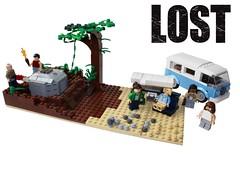 losties01final (hachiroku24) Tags: show toy lost island tv lego creation dharma moc