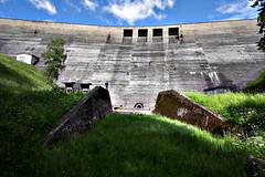 Staumauer Schluchsee (Sa Scha LC) Tags: see schwarzwald beton mauer schluchsee stausee staumauer talsperre badenwrttemberg sddeutschland staudamm hochschwarzwald