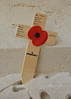 Thiepval Memorial To The Missing (photospencer) Tags: france memorial cross poppy inmemoriam inmemoryof somme thiepval cwgc royalwelchfusiliers 10thbattalion privatewilliamhenrybranch deathaccepted16thaugust1916 placedbyhisgreatniece