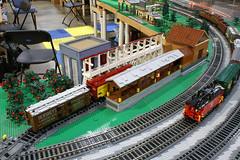 BW_16_Penn-Tex_043 (SavaTheAggie) Tags: pennlug tbrr pentex texas brick railroad train trains layout steam engine locomotive locomotives display yard city