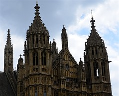 Neo-Gothic Architecture (pjpink) Tags: uk england london architecture spring britain may housesofparliament parliament government ornate neogothic palaceofwestminster 2016 pjpink