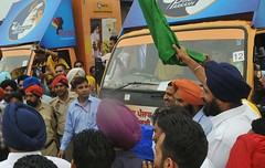 Majithia flags off hi-tech publicity vans -Punjab News (Punjab News) Tags: punjabnews punjab politics akalidal news