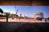 Braemar atracado en el puerto de Sevilla. (mgarciac1965) Tags: españa río puerto sevilla andalucía spain guadalquivir barco turismo braemar atraque nikond5200