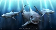 JIAN Sharks @ Summerfest 2016 ([JIAN]) Tags: ocean pets animals shark mesh secondlife summerfest jian greatwhite thresher mako newrelease