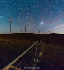 Clouds near the horizon-exported from Instagram (nightscapades) Tags: sky night canon stars australia lakegeorge galaxy astrophotography astronomy canberra nightscapes milkyway samyang eos6d magellanicclouds