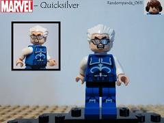 Quicksilver (Random_Panda) Tags: comics book comic lego fig character books super xmen hero figure superhero characters heroes minifig minifigs superheroes marvel figures figs minifigure minifigures