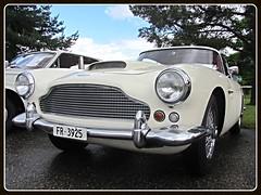 Aston Martin DB4, 1959 (v8dub) Tags: auto old classic car schweiz switzerland automobile suisse martin 4 automotive voiture db oldtimer british oldcar rare aston collector 1959 scarce wagen pkw klassik grandvillard worldcars