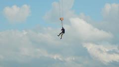 Befrderung (offroadsound) Tags: landarttheatre heersumersommerspiele theatre crane promotion marketing schlachtbeidinklar sky riseup ikarus