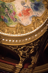 Garnier Meets Chagall (eScapes Photo) Tags: paris france opera ceiling chagall operahouse palaisgarnier parisopera