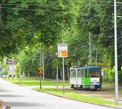 Tatra KT4DtM, #114, Tramwaje Szczeciskie (transport131) Tags: tram tramwaj tsz tramwaje szczeciskie szczecin zdzit tatra kt4dtm
