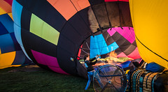 Filling a hot air Balloon (tibchris) Tags: schabc schabc2016 sonoma sonomacountyhotairballoonclassic hotairballoon festival snapchris hot girl basket balloon filling pulling work