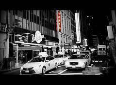 You have reached your destination! (The Stig 2009) Tags: thestig2009 thestig stig 2009 2016 tony o tonyo tonysdinapoli tonys family restaurant italian times square nyc new york city manhattan nighttime night yellow cab candid