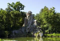 Colosso dell'Appennino (matym89) Tags: sky italy art nature colors florence tuscany villa giambologna demidoff colosso