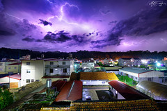 @ (M.K. Design) Tags: longexposure nature night skyscape landscapes town nikon scenery flash taiwan lightning thor    ultrawide thunder hdr    nantou  2016          mkdesign  puil d800e  afs1424mm28g  mk