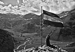 DSC_1053 (Nikita Rise) Tags: mountain landscape austria flag