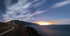 Faro de Teno (Alfix61) Tags: lighthouse night canon faro star noche canarias nubes nocturna largaexposicin fotografianocturna